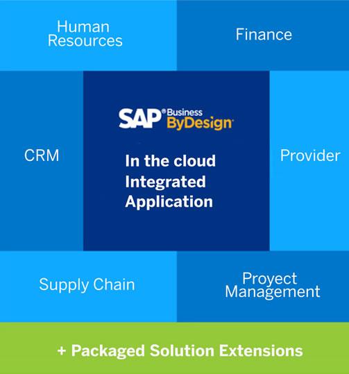 SAP BUSINESS BYDESIGN MODULES.