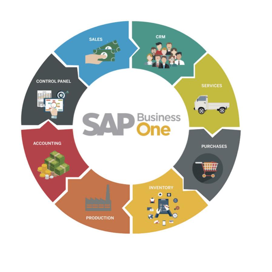 SAP BUSINESS ONE MODULES